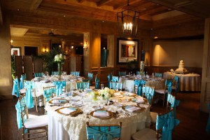One of the weddings displayed on Cesar Garza's website