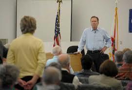 Congressman Vern Buchanan speaks with constituents about Immigration Reform